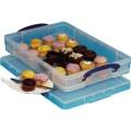 Really Useful Box Aufbewahrungsbox 52 x 8,5 x 34  cm (B x H x T) Polypropylen transparent