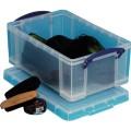 Really Useful Box Aufbewahrungsbox 39 x 15,5 x 24  cm (B x H x T) Polypropylen transparent