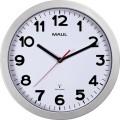 MAUL Funkuhr MAULstep 30cm Innenbereich Kunststoff/Glas, Maße: 30 x 5 cm (Ø x T), Einsatzbereich: Innenbereich, Art der