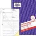 Avery Zweckform  Auftrag/Lieferschein/Rechnungsformular DIN A5  51g/m 2 x 40 Bl.