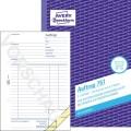Avery Zweckform Auftragsformular DIN A5 nicht  selbstdurchschreibend 2 Durchschläge 3 x 50 Bl.