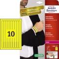 Avery Zweckform Eventband 26,5 x 1,8 cm (B x H)  Papier gelb 10 x 10 St./Pack.