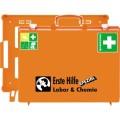 SÖHNGEN® Erste Hilfe Koffer SPEZIAL MT-CD 40 x 30  x 15 cm (B x H x T) DIN 13157 inkl. Wandhalterung  mit 90-Stopp-Arretierung orange
