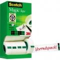 Scotch® Klebefilm Magic™ 810 19 mm x 33 m (B x L)  Nein Ja Zelluloseacetat transparent 14 St./Pack.