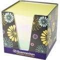 Soennecken Zettelklotz 9 x 9 cm (B x T) 80-90g/m²  holzfreies Papier gelb, pink, orange, grün, blau  800 Bl.