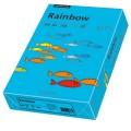 Rainbow Multifunktionspapier Color DIN A4 160g/m  blau 250 Bl./Pack.