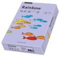 Rainbow Multifunktionspapier Color DIN A4 160g/m  violett 250 Bl./Pack.