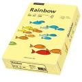 Rainbow Multifunktionspapier Color DIN A4 120g/m  hellgelb 250 Bl./Pack.