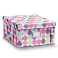 Zeller Aufbewahrungsbox Dots, Pappe