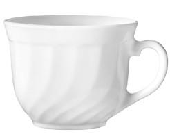 Kaffeeobertasse 0,22  Form Trianon uni wei� - ARCOPAL