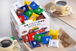 Ritter Sport Mini Bunte Vielfalt, Inhalt: 84 St�ck � 16,67 g je Karton, Mini-Schokoladentafeln in 7 verschiedenen Sorten.
