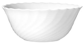 Salatschale 18 cm Form Trianon uni weiß - ARCOPAL Inhalt: 1,06 l, Höhe: 7,8 cm