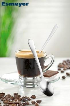 Espressolöffel SYLVIA, Edelstahl 18/0, poliert, Länge: 11,5 cm.