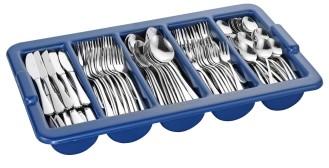 Sparset SYLVIA, Edelstahl 18/0, Materialstärke 2.2/2.0 mm, hochglanzpoliert,  Messer aus Klingenstahl.
