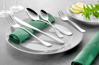 24-teiliges Besteck CELINE aus hochwertigem Edelstahl 18/10, poliert Messer aus Klingenstahl Sparset für 6 Personen!