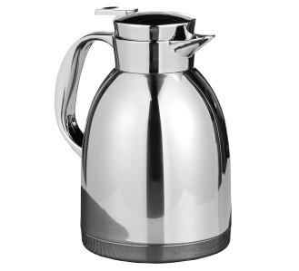 Isolierkanne MAESTRO 1,5 Liter,  aus Edelstahl 18/10, unzerbrechlich,  mit Edelstahleinsatz, Höhe: 228 mm
