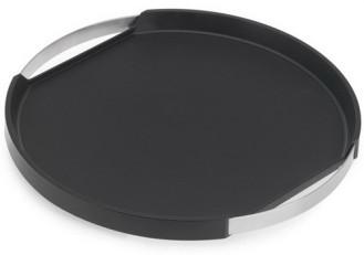 Blomus Tablett PEGOS, rund,  mit rutschhemmender Silikonauflage, Durchmesser 40cm, Höhe 3,5cm
