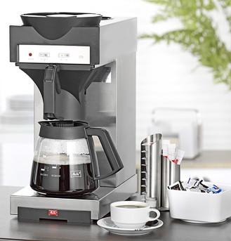 Kaffeemaschine 170 M von Melitta, Inhalt 1,8 Liter, mit zusätzl. Warmhalteplatte, incl. 1 Glaskanne