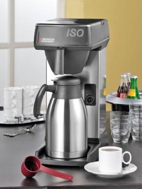 Bonamat Kaffee-Schnellbrühmaschine ISO, inkl. Edelstahl-Isolierkanne (2 Liter), Kunststoff-Filterpfanne