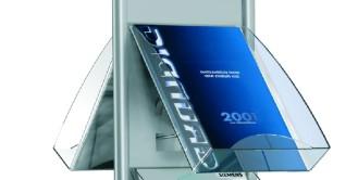 Prospektfach DIN A4 aus Acrylglas