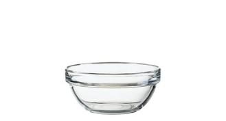 Glasschale EMPILABLE, Inhalt: 0,33 Liter, Durchmesser: 120 mm, H�he: 55 mm, stapelbar.