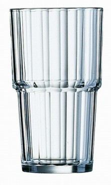 Becher-/Longdrinkglas NORVEGE Inhalt 0,32 l Höhe 125 mm - Durchmesser 74 mm stapelbar