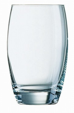 Becherglas CABERNET, Inhalt: 0,35 Liter,  Höhe: 121 mm, Durchmesser: 76 mm, ohne Füllstrich.