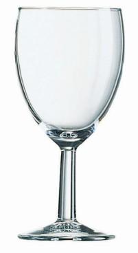 Weinglas SAVOIE, Inhalt: 0,19 Liter, Höhe: 140 mm, Durchmesser: 69 mm.
