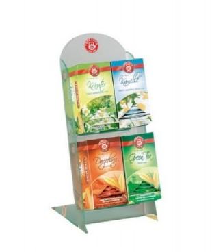 Teekanne TEE-BAR für Profis, mit 4 Fächern, Maße: 36 x 14,5 x 18,5 cm, aus Acryl, Lieferung ohne Tee.