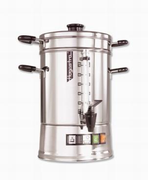 Hogastra Kaffeeautomat Hotspot CNS 75 für 15 bis 75 Tassen - 2 bis 9,5 ltr. Höhe: 49 cm, Durchmesser: 24 cm