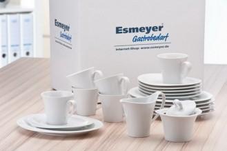 20-tlg. Kaffeeset  Form Top Life - uni weiß SPARSET für 6 Personen