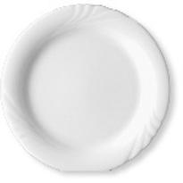 Dessertteller AMBIENTE, Durchmesser: 20,0 cm, uni weiß, Eschenbach