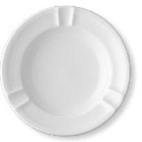 Ascher - Durchmesser 15,0 cm -  Form AMBIENTE - uni weiß