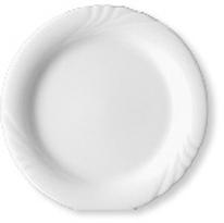 Speiseteller flach - Durchmesser 28,0 cm - Form AMBIENTE - uni weiß