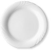 Sauciere-Unterteil - ohne Sauciere - Brotteller/Teller flach - Durchmesser 16,0 cm  Form AMBIENTE - uni weiß