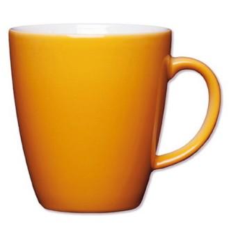 Henkelbecher Inhalt: 0,35 ltr., Höhe: 9,6 cm, Eschenbach COFFEESHOP COLOUR,  apricot