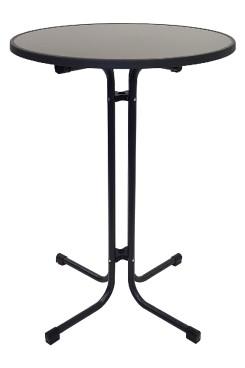 Stehtisch MERKUR anthrazit Durchmesser: 80cm, Höhe: 109cm >>> Sonderpreis, solange Lager-Vorrat <<<