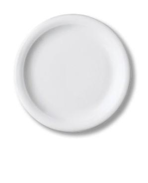 Speiseteller, Durchmesser: 25 cm, Thomas TREND, Porzellan, uni weiss