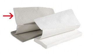 Universal Handtuchpapier FRIPA, Tuchgröße: 250 x 230 mm, Inhalt: Paket à 20 x 250 Tücher = 5.000 Blatt,