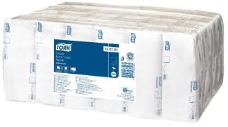 Tork Universal Handtuchpapier H3 25x31cm, 1-lagig, Krepp, naturweiß Lagenfalzung, Inhalt: 24 x 192 = 4608 Tücher