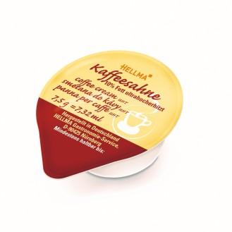 Hellma Kaffeesahne mit 10 % Fett, Inhalt: 240 Stück Portionspackungen/ Tassenpackungen á 7,5 g je Karton