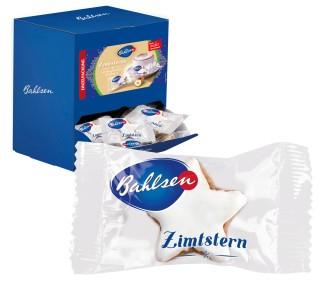 Bahlsen ZIMTSTERNE - Feines Haselnuss-Zimt-Gebäck Inhalt ca. 130 Einzelpackungen à 6 g