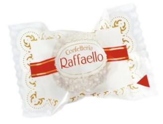 Ferrero RAFFAELLO, Inhalt: 285 Stück à 10 g je Karton.