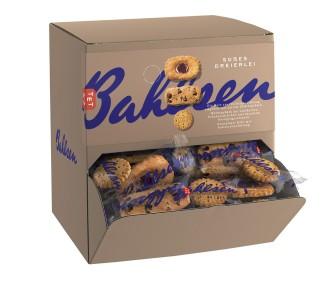 Bahlsen SÜSSES DREIERLEI, Inhalt: ca. 150 Stück à 7/7/6 g je Spenderbox.