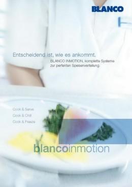 Sonderkatalog Blanco Inmotion System Speisenverteilung zum Download hier im Shop