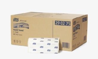 Tork Advanced Handtuchpapier, Lagenfalzung, Maße: 25 x 50 cm, 2-lg., hochweiss, Inhalt: 1400 Tücher