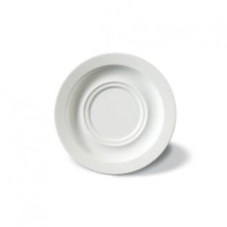 Kaffeeuntertasse ADRINA,  Farbe: weiß, Durchmesser: 15,5 cm, passend zur Obertasse 0,18 und 0,22 Liter.