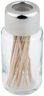 Ersatzglas mit Edelstahldeckel                                -Zahnstocher-