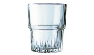 Glasbecher EMPILABLE, Inhalt: 0,20 Liter, Durchmesser: 71 mm, Höhe: 86 mm, stapelbar.