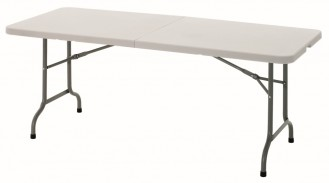 Bartscher Multi-Tisch, klappbar  Tragegriff Füße Stahl, lackiert  B 1829 x T 762 x H 736 mm